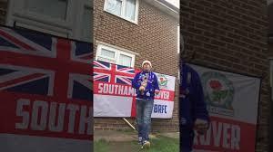 Blackburn Flags Blackburn V Fleetwood Town Tuesday 31st October 2017 Youtube