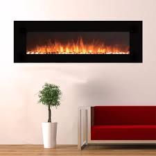 touchstone 80005 onyx xl wall mounted electric fireplace 72
