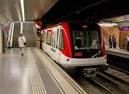 Metro Overhead Door Paral Lel Barcelona Metro