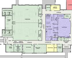 Picture Of A Floor Plan by Henson Gymnasium And Cafeteria Floor Plan Cunningham Children U0027s Home