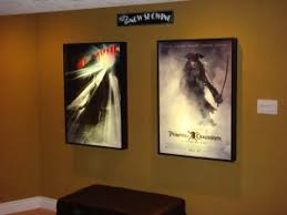 lighted movie poster frame movie poster frame backlit cinema theater sign