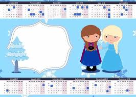 30 best 2015 new year frozen printable monthly calendar images on