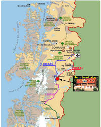 Patagonia South America Map Programs And Rates Terra Luna Lodges