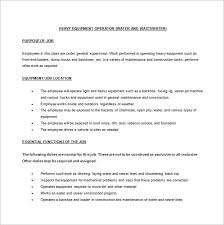 light equipment operator job description wonderful light equipment operator jobs f93 in stunning selection