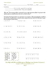 solving two step equations worksheets answers multi with variables both sides worksheet impression an