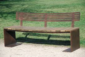 Simple Wooden Park Bench Plans by Contemporary Garden Bench Plans Video And Photos