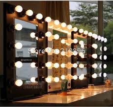 professional makeup artist lighting professional style aluminum makeup mirror box with