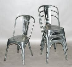 Stacking Chairs Design Ideas Metal Stackable Chairs Chair Design Ideas Pertaining To Galvanized