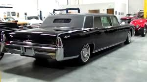 1965 lincoln continental executive limousine by lehmann peterson