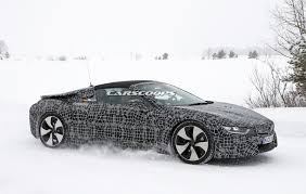 Bmw I8 Convertible - spy shots up close with the all new bmw i8 spyder bmwcoop