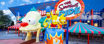 Map Of Islands Of Adventure Orlando by The Simpsons Ride Universal Studios Florida