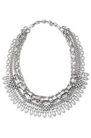 silver necklace images Silver statement necklace chunky silver necklace stella dot jpg