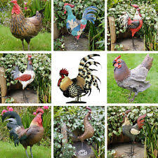 ornaments figurines metal chicken collectables ebay