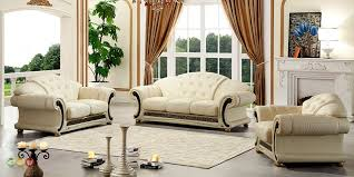 Designs For Sofa Sets For Living Room Italian Leather Sofa Set Model 2018 2019