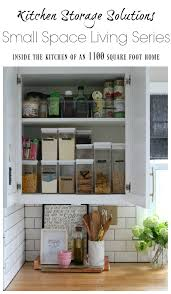 kitchen cabinet organizer shelf small small space living series kitchen cabinets and organizing