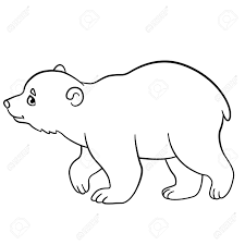 baby polar bear coloring pages corpedo com