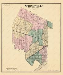 Detroit Michigan Map by Southwest Detroit Was Originally Springwells Township With Lots