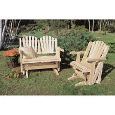 Rustic Outdoor Furniture by Rustic Natural Cedar Furniture Company Cedar Chair Glider