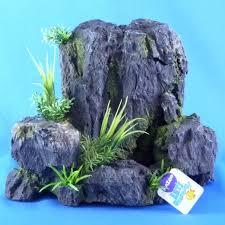 kazoo granite rock with air aquarium ornament