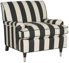 Black And White Striped Chair striped armchair accent chairs safavieh com