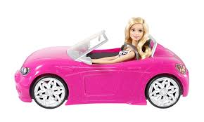 pink glitter car amazon com barbie glam convertible discontinued by manufacturer