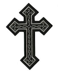 cross patch religious christian celtic iron on jacket