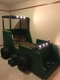 John Deere Bunk Beds Tractor Bed Boys Room Idea Pinterest Tractor Toddler Bed