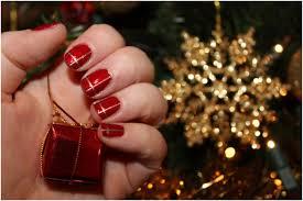 top 10 elegant diy christmas nail art top inspired