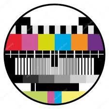 television color test u2014 stock vector emirsimsek 3703522