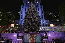 75th rockefeller center christmas tree lighting ceremony photos