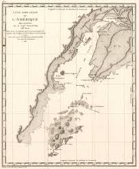 L Map Chicago by 1799 Cote Nord Ouest De L U0027amerique Reconnue Par Le Cap Vancouver