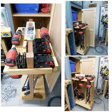 Wood Tool Storage Cabinets Sliding Tool Storage Cabinet Build Youtube