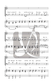it u0027s still the blood and the old rugged cross satb034