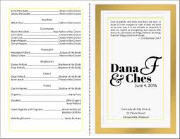 wedding programs diy do it yourself wedding program cards