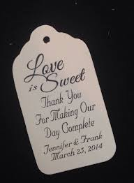 wedding tags for favors thank you tags for wedding favors favor tags wedding favor tags