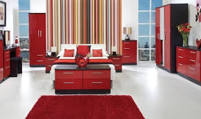Black Red And White Bedroom Decorating Ideas Pleasing 30 Bedroom Decorating Ideas With Red Design Ideas Of