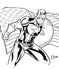 captain america coloring pages for kids asoboo info