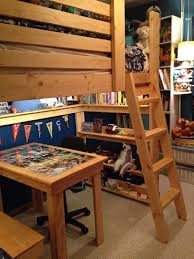 College Loft Bed 11 Best Loft Bed With Bench Below Images On Pinterest Benches