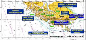 Cape Horn Map Estrecho De Magallanes