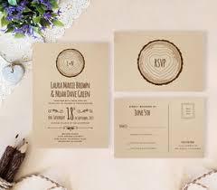 Kraft Paper Wedding Invitations Rustic Wedding Invitations Lemonwedding