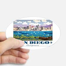 California travel stickers images San diego bumper stickers cafepress jpg
