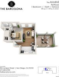 san diego 1 bedroom apartments barcelona apartments rentals san diego ca apartments com