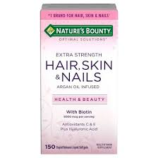 optimal solutions extra strength hair skin and nails softgels