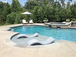 Pool Chaise Ledge Lounger Hornerxpress Worldwide