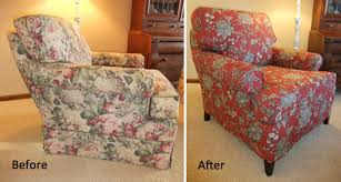 Slipcover Armchair Outdated Chair Gets Slipcover Makeover The Slipcover Maker