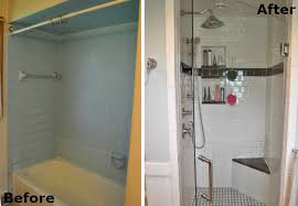 Before And After Small Bathrooms Small Bathroom Makeover Before U0026 After Bob Vila
