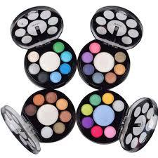 Eyeshadow Qianyu supply meis 4 series color eye shadow blush makeup wholesale