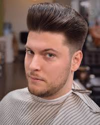 is there another word for pompadour hairstyle as my hairdresser dont no what it is classic pompadour men haircuts with round faces pinterest