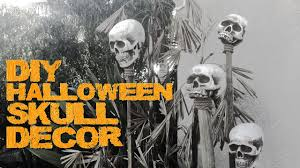 halloween skull diy cheap easy u0026 quick youtube