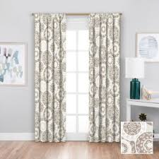 Gray And White Blackout Curtains Buy Blackout Curtains From Bed Bath Beyond